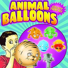 Animal Balloons 2 Inch Toy Capsules #animalballoons #toycapsules #toys #vending #newproduct #funstuff