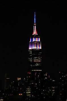 Empire State Building on July 4