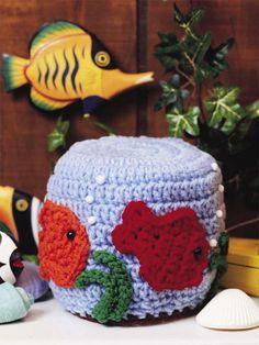 Crochet for the Home - Crochet Decor Patterns - Fishbowl Tissue Topper