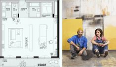 Atelierhaus - Gastgebgasse 23, 1230 Wien Floor Plans, Diagram, Studio Apt, Floor Plan Drawing, House Floor Plans