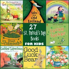 If you're looking for story time inspiration, look no further! Check out these St. Patrick's Day books for your little ones!