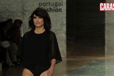 Com Raquel Prates no Portugal Fashion