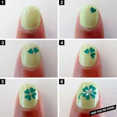 11 Super Fun St. Patricks Day Nail Art Designs!