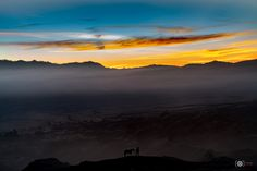 Colourful Morning II Mt Bromo - null