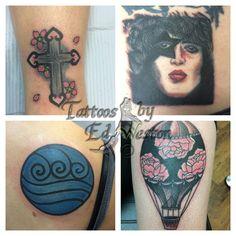 Various tattoos by Ed Weston