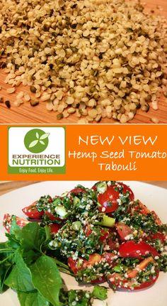 Hemp Seed Tomato Tabouli