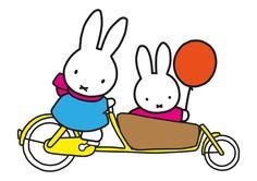 Miffy Bakfiets, Miffy Lastenrad, Miffy Lastenfahrrad, Nijntje bakfiets, Miffy cargo bike
