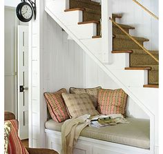 Under-stair day bed