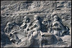 Stone Mountain Carvings