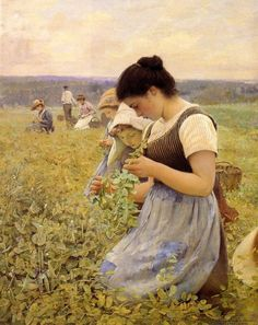 Women in the Fields by Charles Sprague Pearce