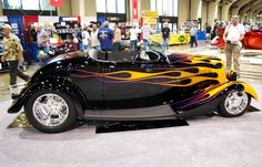 Bobby Alloway built the 33 Ford that won the AMBR award at the 66th Grand National Roadster Show 2015 in Pomona, California on Sunday for his second win.