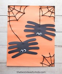 Top 12 Halloween Construction Paper Crafts For Kids. How to Make Paper Crafts for kids, Easy Paper Crafts For Toddlers Top 12 Halloween Construction Paper Crafts For Kids. How to Make Paper Crafts for kids, Easy Paper Crafts For Toddlers Fröhliches Halloween, Halloween Art Projects, Halloween Arts And Crafts, Halloween Crafts For Toddlers, Toddler Crafts, Crafts Toddlers, Fall Crafts, Arts And Crafts For Kids Easy, Craft Projects For Kids