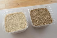 Making Tahini: The difference between natural or hulled sesame seeds and unhulled sesame seeds.