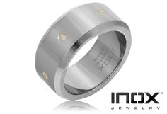 8/22/2012 Pick Your Price Jewelry Collection  $25.00  + FREE SHIPPING Inox Stamped Tungsten Carbide Surrounded by Genuine Diamonds Men's Ring