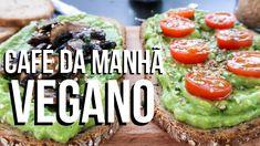 TORRADAS COM CREME DE ABACATE | Café da manhã Vegano