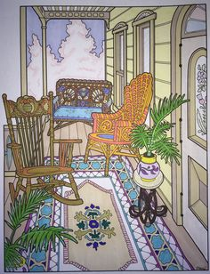 Victorian House--kkb (coloring book by Dover)
