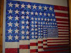 American Flag Art by jimbrickett, via Flickr