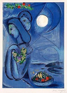 Saint Jean Cap Ferrat, 1952, Marc Chagall