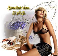 Ráno « Rubrika   OBRÁZKY PRO VÁS Good Morning Beautiful Flowers, Maya, Messages, Humor, Blog, Humour, Funny Photos, Blogging