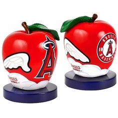 """Los Angeles Angels of Anaheim 2013 All-Star Game Apple Figurine - $21.99 Commemorate the 2013 All-Star Game with this 4.5"""" Apple figurine! This summer the All-Star Game will be held at Citi Field  This 4.5"""" figurine is a replica  celebration of the 84th Major League Baseball All-Star Game at Citi Field.modeled after the Home Run Apple which has been a part of Mets home games at Citi Field and previously Shea Stadium since 1980."""
