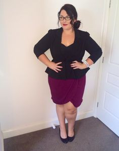Plus size fashion for women - workwear