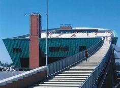 1992 / 1997 - NEMO (National Center for Science and Technology), Amsterdam, Olanda Foto © Barbara Burg & Oliver Schuh Palladium Photodesign Courtesy © RPBW - Renzo Piano Building Workshop Architects