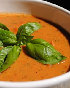 Low FODMAP and Gluten Free - Roasted Vegetable Soup - http://www.ibssano.com/roasted_vegetable_soup.html