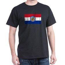 """""""Missouri State Flag"""" T-Shirt"""