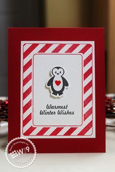 Dawn Woleslagle for Wplus9 featuring Bitty Buddy Valentines stamp set and dies and Winter Wishes stamp set.