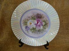 Bella Época: Pratos de porcelana Pintado à Mão
