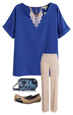 """""""Church today"""" by madison-mills-1 on Polyvore featuring Emilio Pucci, Jack Rogers and Vera Bradley"""