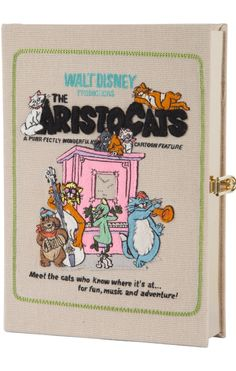 Olympia Le-Tan x The Aristocats Book Clutch.