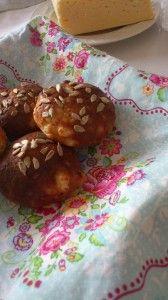 LCHF Bröd bakat med fetaost (utan mjöl)