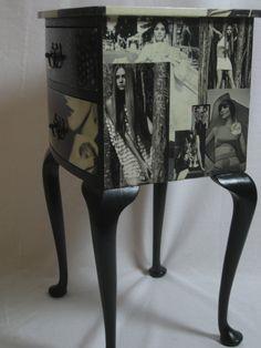 Kitsch-En-Sync - Decoupage vintage furniture