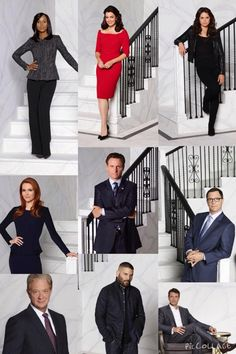 Scandal. Photos of some of the cast from Season 4.