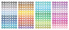 #trinidadwebsitedesign I'm building a website and had to look for these Free Circle Social Media Icons in 48 Different Colors, thought I'd share it with you all @CSM eMarketing and Consulting