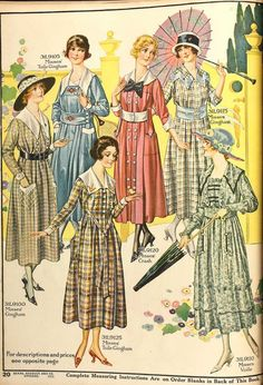 1918 dresses