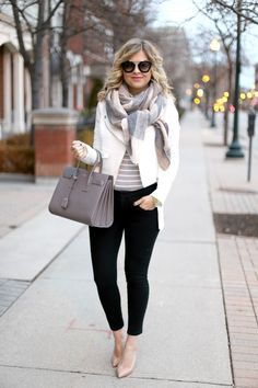 Stripes and neutrals.