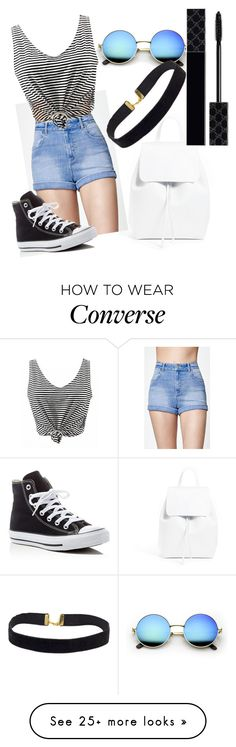 """""""Untitled #3458"""" by polly98 on Polyvore featuring Mansur Gavriel, Kendall + Kylie, Converse and Gucci"""
