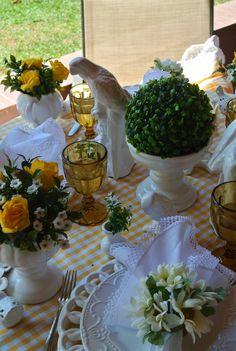 Mesa de domingo - PORTA GUARDANAPO Bouquet Margarida  Sunday Table - Daisy  Napkins Ring