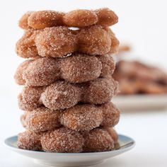 Deceptively easy, these cake donuts whip up in 30 minutes and will leave even the most demanding sweet tooth satisfied!