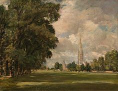 John Constable, Salisbury Cathedral from Lower Marsh Close, 1820, oil on canvas, 73 x 91cm, National Gallery of Art, Washington DC, USA