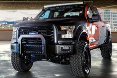 Ford automobile - 2014 SEMA: Fabtech F-150