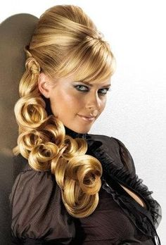Cute hairstyle   Picture from google :)