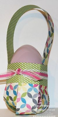 Easter Basket Tutorial...ready for a picture tutorial AND a video tutorial on how to make this?