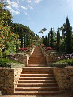 Escaleras del Jardín Botánico, Blanes