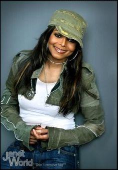 pendule for janet photo: damita jo Jo Jackson, Jackson Music, Jackson Family, Michael Jackson, Pretty Black, Beautiful Black Women, Beautiful People, Black Female Singers, Janet Jackson Unbreakable