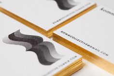 KOMMCOLLECTIVE  BUSINESS CARDS by kommcollective , via Behance