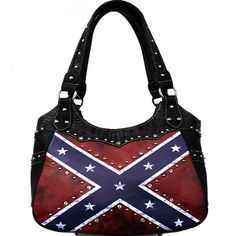 Concealed Carry Rebel Flag Handbag – Hay River Tack and Supplies