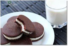 Wegańskie kokosowo kakaowe ciastka bez pieczenia